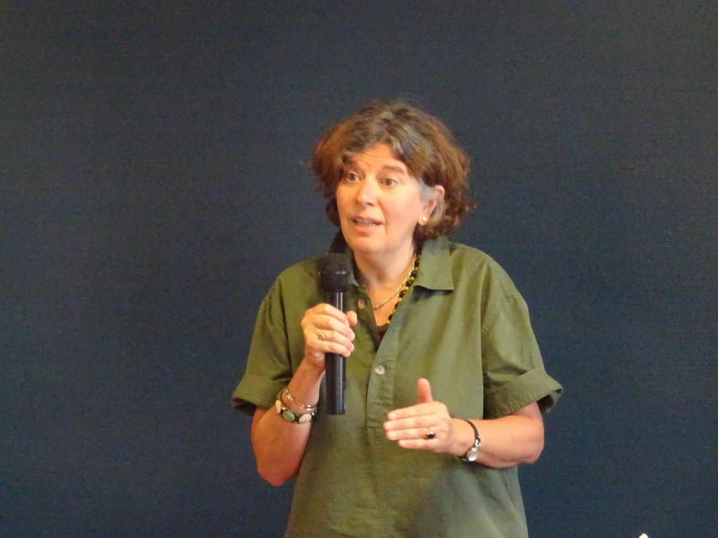Université d'été 2020. Elena Lasida, chargée de mission « Écologie et société » auprès de la Conférence des Évêques de France.