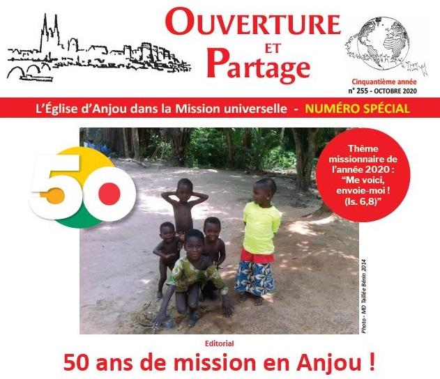 2020.10.16_Anjou_50ans-mission. Ouverture et Partage : cinquante ans de mission en Anjou