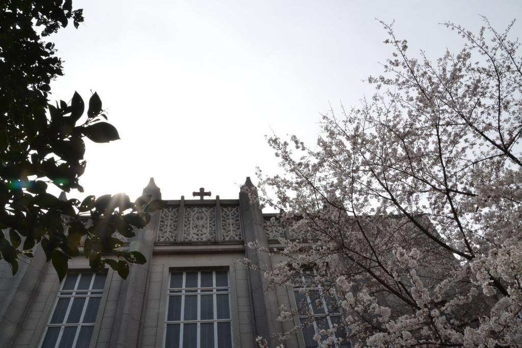 Japon-chapelle-de-Université-du-Sacré-Coeur-façade. La mission : témoigner de l'Évangile partout